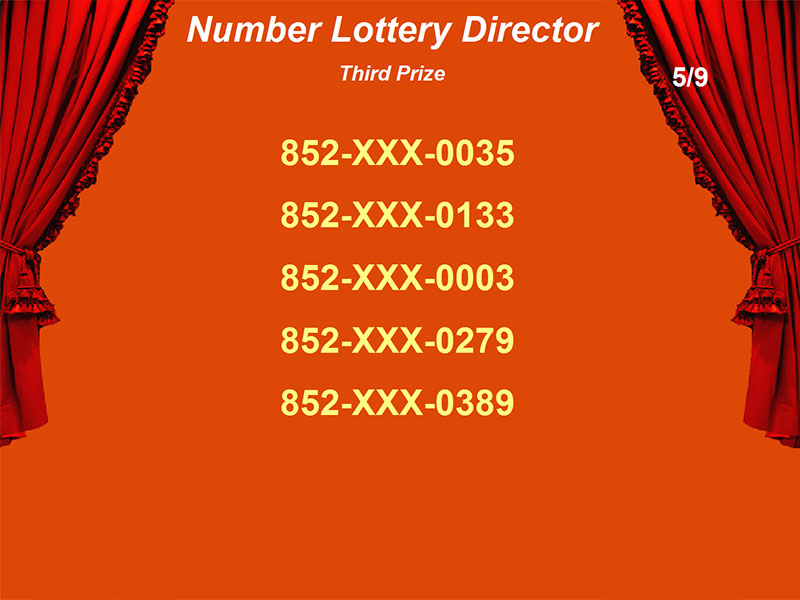 Create and manage your own lottery with flexible setting